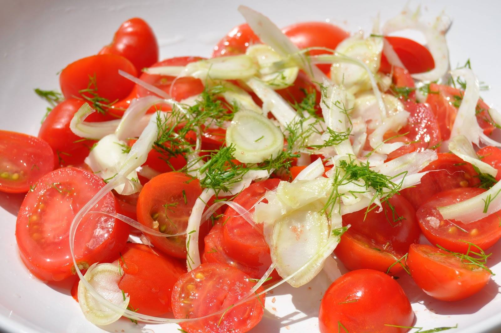Tomato & Fennel Salad