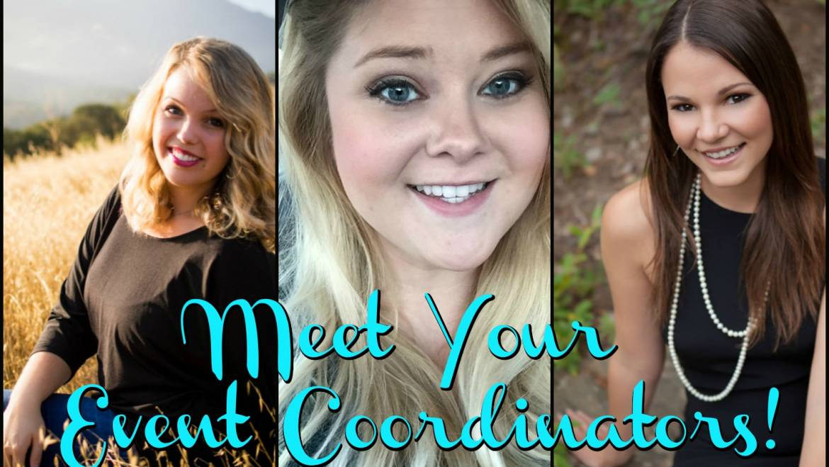 Meet the Event Coordinators!