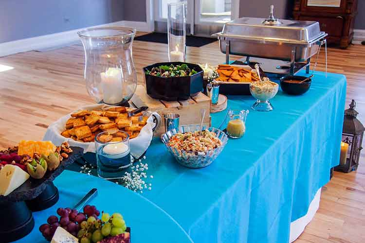 Denver Full-Service Event Catering Chateuax Buffet